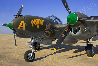 CUNWB 00023 Lockheed P-38 Lightning by Peter J Mancus