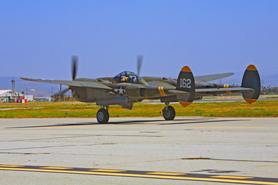 WB - Lockheed P-38 Lightning 00037 Lockheed P-38 Lightning Porky II by Peter J Mancus