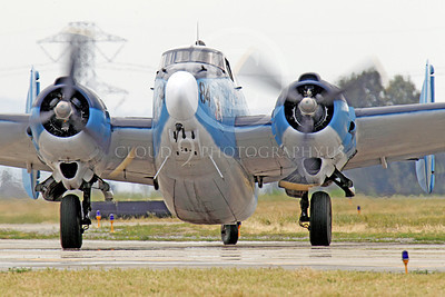 WB - Lockheed PV-2 Harpoon 00005 A taxing USN Lockheed PV-2 Harpoon warbird, airplane picture, by Peter J Mancus