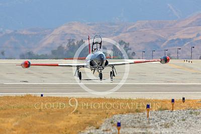 WB-T-33 00001 Lockheed T-33 Shooting Star US Air Force by Peter J Mancus