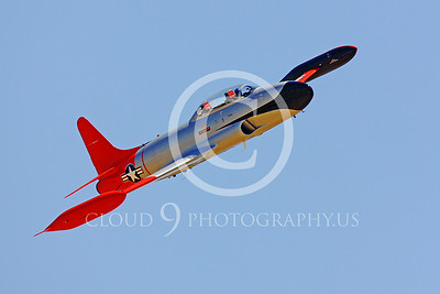 WB-T-33 00002 Lockheed T-33 Shooting Star US Air Force by Peter J Mancus