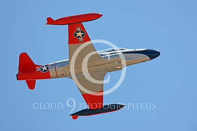 WB-T-33 00006 Lockheed T-33 Shooting Star US Air Force by Peter J Mancus