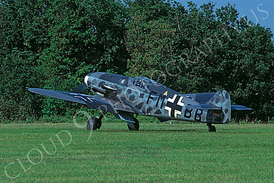 WB - 00027 Messerschmitt Bf-109G German Air Force by Stephen W D Wolf