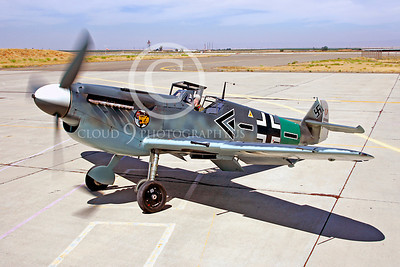 WB - Bf-109 00011 Messerschmitt Bf-109 fighter German World War II Luftwaffe by Peter J Mancus