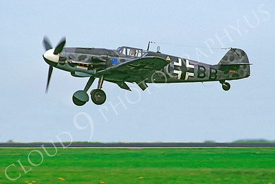 WB - 00010 Messerschmitt Bf-109G German Air Force by Stephen W D Wolf