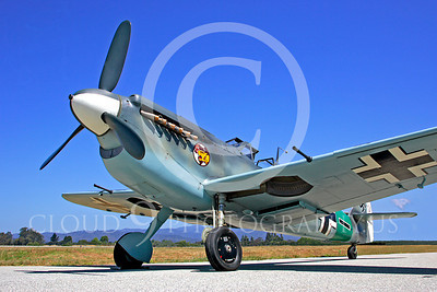 WB - Bf-109 00025 Messerschmitt Bf-109 fighter German World War II Luftwaffe by Peter J Mancus