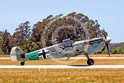 WB - Bf-109 00017 Messerschmitt Bf-109 fighter German World War II Luftwaffe by Peter J Mancus