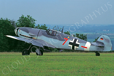 WB - 00021 Messerschmitt Bf-109G German Air Force by Stephen W D Wolf
