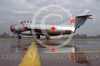WB - MiG-15 00017 Mikoyan-Guryevich MiG-15 Soviet Union Air Force warbird markings by Peter J Mancus