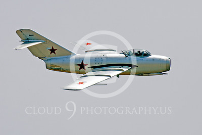 WB - MiG-15 00004 Mikoyan-Guryevich MiG-15 Soviet Union Air Force warbird markings by Peter J Mancus