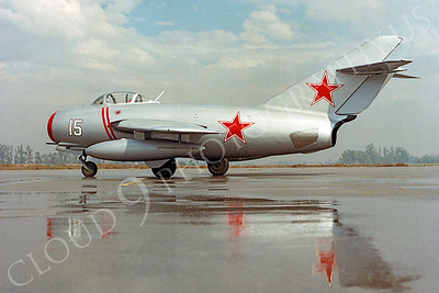WB - 00003 Mikoyan-Guryevich MiG-15 Fagot Soviet Union Air Force by Peter J Mancus