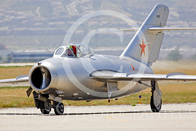 WB - MiG-15 00023 Mikoyan-Guryevich MiG-15 Soviet Union Air Force warbird markings by Peter J Mancus