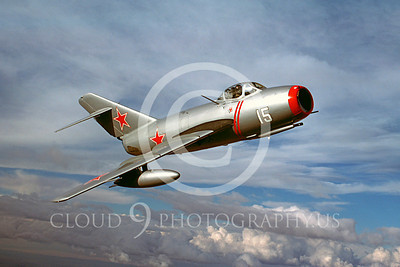 WB - MiG-15 00002 Mikoyan-Guryevich MiG-15 Soviet Union Air Force warbird markings by Peter J Mancus