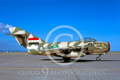 WB - MiG-15 00005 Mikoyan-Guryevich MiG-15 Iranian warbird markings by Peter J Mancus