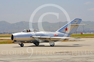 WB - MiG-15 00021 Mikoyan-Guryevich MiG-15 Soviet Union Air Force warbird markings by Peter J Mancus