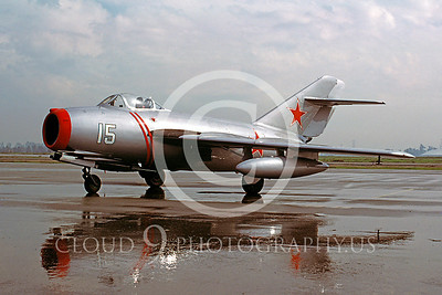 WB - MiG-15 00007 Mikoyan-Guryevich MiG-15 Soviet Union Air Force warbird markings by Peter J Mancus