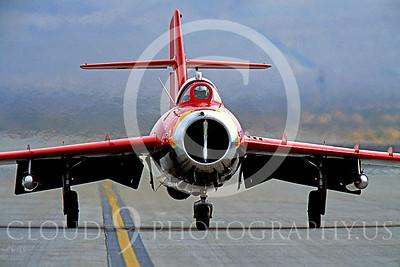 WB - MiG-17 00009 Mikoyan-Guryevich MiG-17 Fresco by Peter J Mancus