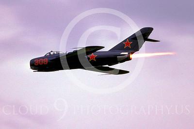 WB - MiG-17 00018 Mikoyan-Guryevich MiG-17 Fresco by Peter J Mancus