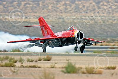 WB - MiG-17 00011 Mikoyan-Guryevich MiG-17 Fresco by Peter J Mancus