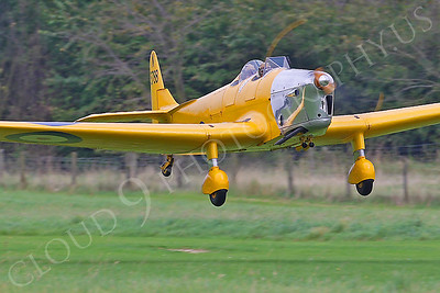 WB - Miles M14A Hawk Trainer 3 00020 British RAF by Tony Fairey