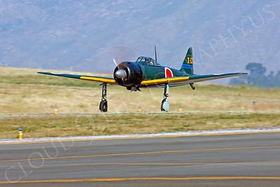 WB - Mitsubishi A6M Zero 00011 by Peter J Mancus