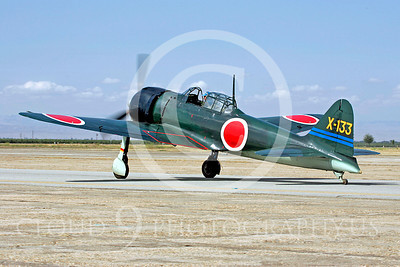WB - Mitsubishi A6M Zero 00005 Mitsubishi A6M Zero Japanese World War II fighter by Peter J Mancus