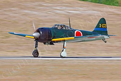 WB - Mitsubishi A6M Zero 00023 by Peter J Mancus