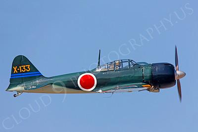 WB - Mitsubishi A6M Zero 00030 by Peter J Mancus