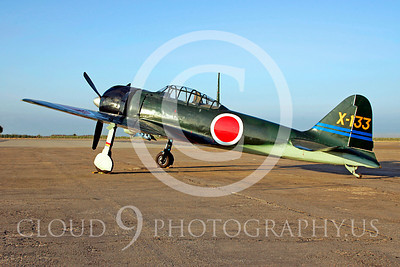 WB - Mitsubishi A6M Zero 00029 Mitsubishi A6M Zero Japanese World War II fighter by Peter J Mancus