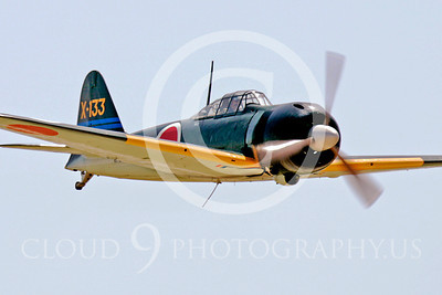 WB - Mitsubishi A6M Zero 00026 Mitsubishi A6M Zero Japanese World War II fighter by Peter J Mancus