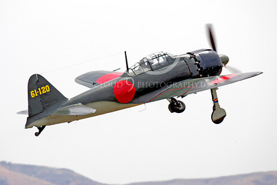 WB - Mitsubishi A6M Zero 00024 Mitsubishi A6M Zero Japanese World War II fighter by Peter J Mancus