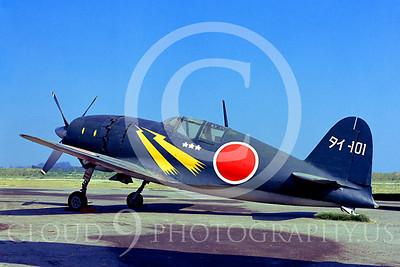WB - Mitsubishi J2M Raiden 00001 Mitsubishi J2M Raiden Japanese Naval Air Force warbird by Peter J Mancus