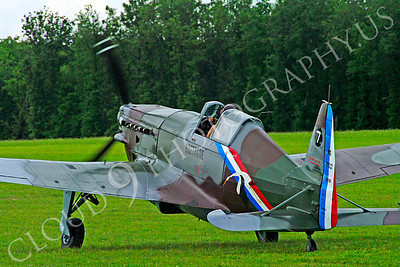 WB - Morane-Saulnier MS406 00011 Morane-Saulnier MS406 French Air Force World War II fighter warbird aircraft photo by Stephen W D Wolf