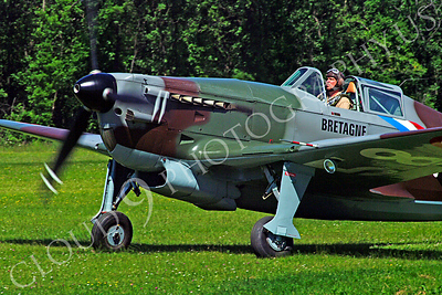WB - Morane-Saulnier MS406 00003 Morane-Saulnier MS406 French Air Force World War II fighter warbird aircraft photo by Stephen W D Wolf