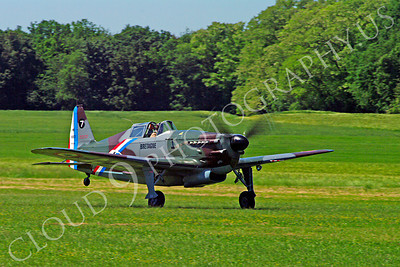 WB - Morane-Saulnier MS406 00007 Morane-Saulnier MS406 French Air Force World War II fighter warbird aircraft photo by Stephen W D Wolf