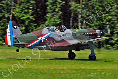WB - Morane-Saulnier MS406 00001 Morane-Saulnier MS406 French Air Force World War II fighter warbird aircraft photo by Stephen W D Wolf