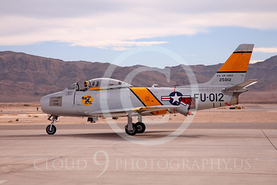 WB-F-86 00001 North American F-86 Sabre by Peter J Mancus