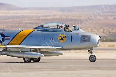 CUNWB 00123 North American F-86 Sabre by Peter J Mancus