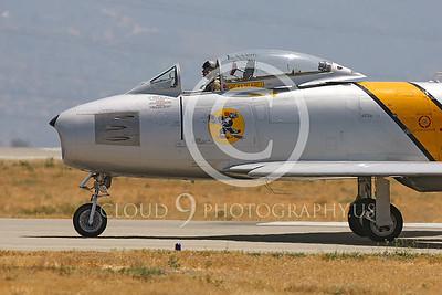 WB-F-86 00003 North American F-86 Sabre US Air Force by Peter J Mancus