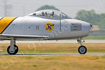 CUNWB 00039 North American F-86 Sabre by Peter J Mancus