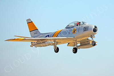WB-F-86 00006 North American F-86 Sabre by Peter J Mancus