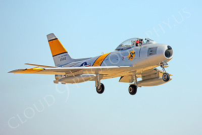 WB-F-86 00006 North American F-86 Sabre by Peter J Mancus