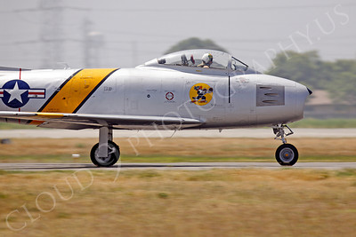 CUNWB 00001 North American F-86 Sabre by Peter J Mancus