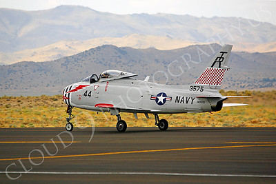 WB - 00009 North American FJ-4B Fury by Peter J Mancus