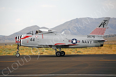 WB - 00007 North American FJ-4B Fury by Peter J Mancus