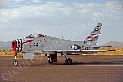 WB - 00005 North American FJ-4B Fury by Peter J Mancus