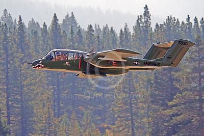 WB - North American OV-10 Bronco 00014 USMC SHARKMOUTH by Alasdair MacPhail