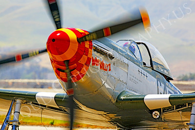 CUNWB 00091 North American P-51D Mustang by Peter J Mancus