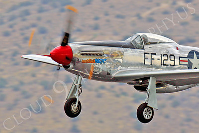 CUNWB 00070 North American P-51D Merlin's Magic by Peter J Mancus