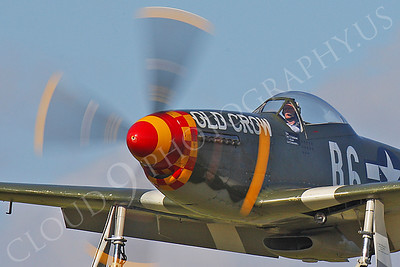 CUNWB 00094 North American P-51D Mustang Old Crow by Peter J Mancus